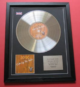 AC/DC - Fly On The Wall CD / LP PLATINUM PRESENTATION DISC